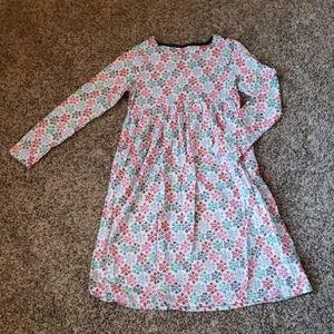 Lands End girls jersey dress